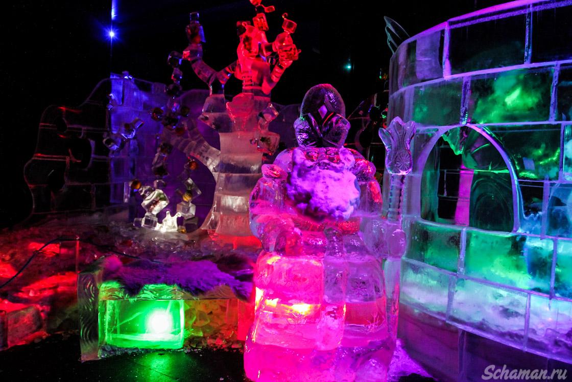 музей льда, сокольники, ледяная выставка