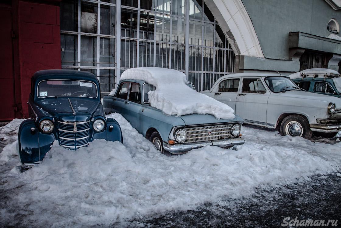 Ретро авто, помойка, кладбище автомобилей
