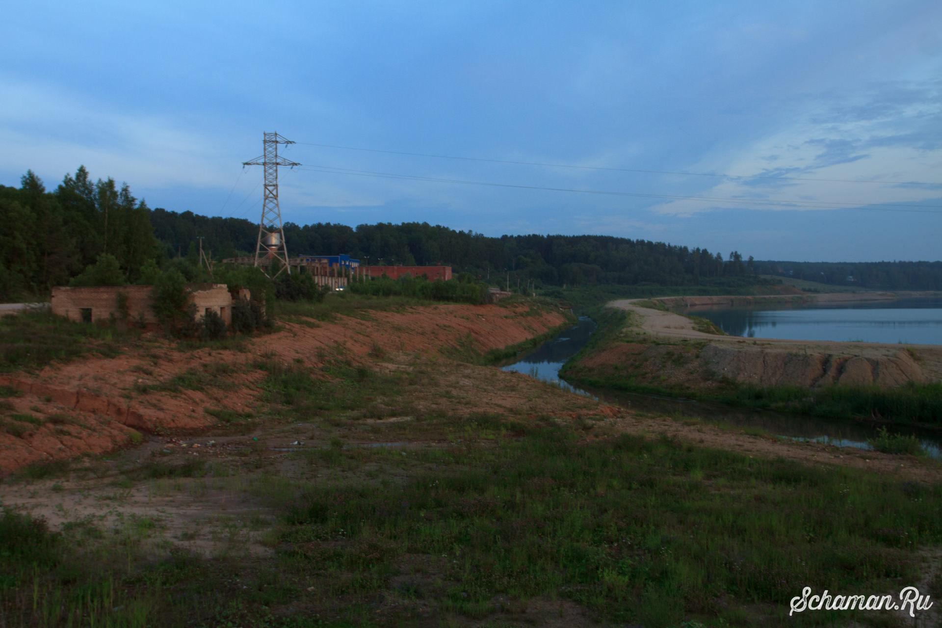 Краснозаводск. Водохранилище ГАЭС-2