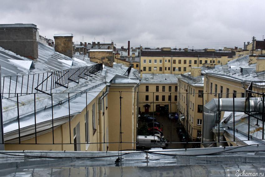 Крыша Питера